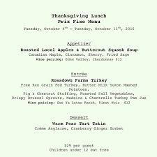 vancouver thanksgiving dinner diva at the met diva met twitter