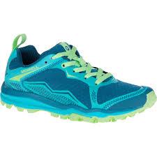light trail running shoes merrell women s all out crush light trail running shoes bright green
