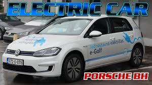 volkswagen electric car vw electric car porsche bh youtube