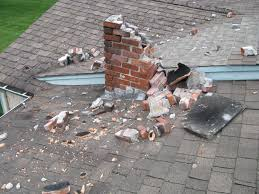 exterior collapsed chimney may cause carbon monoxide poisoning