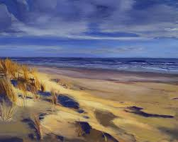 Rhode Island Landscapes images Second beach newport rhode island painting by christine hopkins jpg