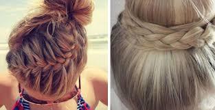 Frisuren Lange Haare Zum Selber Machen by Flechtfrisuren Mittellange Haare Selber Machen Bilder