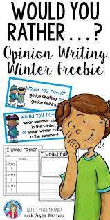 second grade writing paper 25 best opinion writing second grade ideas on pinterest opinion this free winter opinion writing would you rather resource is a great activity to help your