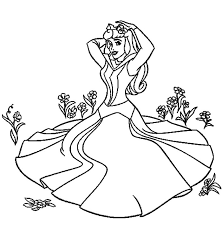 aurora river sleeping beauty coloring advice