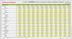 Restaurant Food Cost Spreadsheet Printable Monthly Budget Template Monthly Expense Spreadsheet