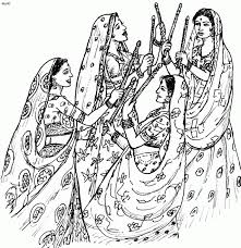 coloring page india coloring page great pages for kids book