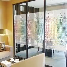 digital window custom static cling stained glass window film frosted opaque