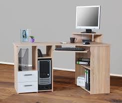 Eckschreibtisch Eck Schreibtisch Eiche Eckschreibtisch Computertisch Ecklösung