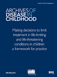 making decisions to limit treatment in life limiting and life