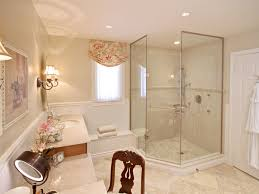 bathroom recessed panel cabinets traditional master bathroom idea
