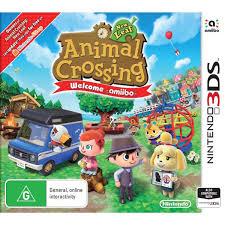animal crossing new leaf welcome amiibo nintendo 3ds big w
