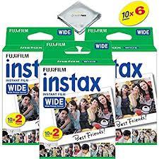 amazon black friday code fujifilm instax 300 amazon com fujifilm instax wide instant film 4 twin packs u003d80