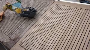 nettoyage terrasse bois composite nettoyer sa terrasse au chlore