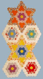 grandmother u0027s flower garden star quilt u2013 week 4 u2013 q is for quilter