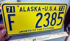 Ak Dmv Vanity Plates Collectible Alaska License Plates Ebay