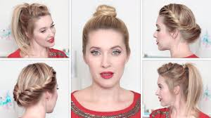 easy casual updo hairstyles for long hair fun back to