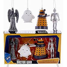 doctor who weeping mold ornament