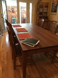 African Mahogany Laminate Flooring Hand Crafted Suzanne U0027s 8 Foot Long African Mahogany Dining Table