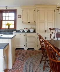 Best  Farm Kitchen Design Ideas On Pinterest Country Kitchen - Old farmhouse kitchen cabinets