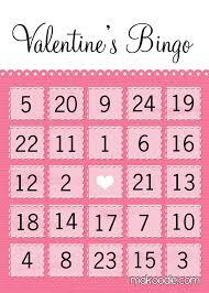 s day bingo s bingo free printable makoodle