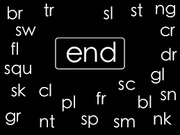 learn to blend consonant blends chant by elf learning elf kids