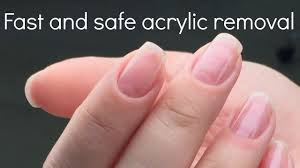 how to remove acrylic nails fast and safe nail tech secrets by