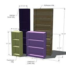 simple bookcases dollhouse made of a simple bookcase from via