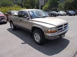 2002 dodge dakota truck used 2002 dodge dakota slt 4x4 in mahaffey pa 702537 vin