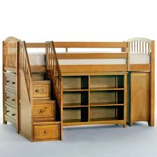 Bunk Bed With Stairs And Drawers Loft Beds Stair Loft Bed With Stairs Drawers Closet Shelves And