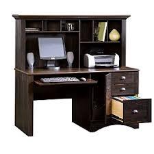 Computer Desk Brown Sauder Harbor View Collection Boscov S