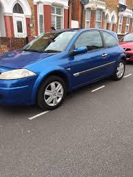 renault megane dynamique 1 4 16v 2005 only 75k long mot great
