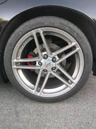 corvette zo6 rims oem polished c6 z06 wheels tire corvetteforum chevrolet