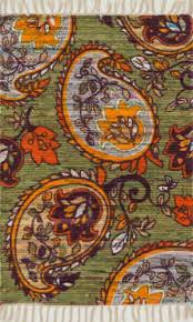 Brown And Orange Area Rug Orange And Green At Rug Studio