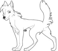 cartoon wolf coloring coloring pages wolves