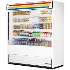 true tac 72 ld white vertical air curtain refrigerator