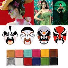 Halloween Makeup Kit by Luckyfine Face Body Paint Oil Painting Art Makeup Set Kit