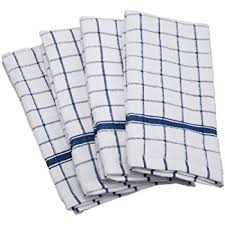 dii cotton luxury chef terry dish towels 16x26 set of