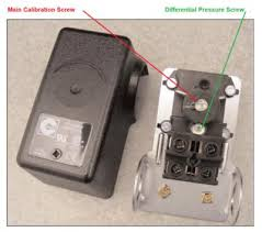 is there a pressure switch check valve