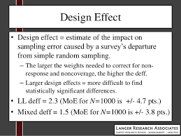 design effect in survey aapor 2013 langer research bloomberg cci