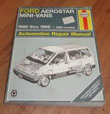 28 1991 ford aerostar repair manual 61708 1991 ford