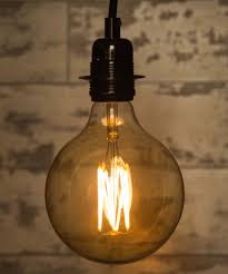 large globe filament led light bulb dimmable a