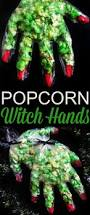 popcorn witch hands recipe halloween parties popcorn and witches