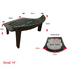 cast iron fire grate fireside log basket fireplace holder by home
