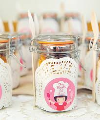 Baking Favors by Pretty Pink Vintage Baking Birthday Hostess With The