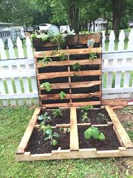 Pallets Garden Ideas 30 Unique Pallet Garden Bed Ideas