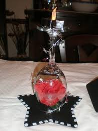cool design hollywood centerpieces old centerpiece glamour party