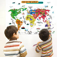 World Map Cartoon by Map Cartoon Promotion Shop For Promotional Map Cartoon On