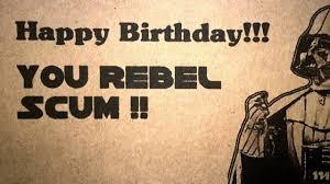Star Wars Birthday Memes - star wars happy birthday meme birthday meme pinterest happy