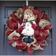 burlap christmas wreath best decorating a christmas wreath burlap products on wanelo
