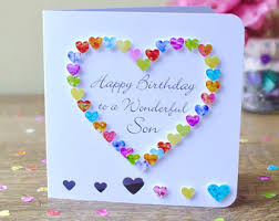 25th birthday card handmade personalised personalized age